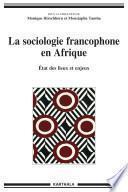 La sociologie francophone en Afrique