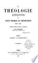 La théologie affective ou Saint Thomas en méditation
