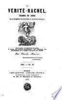 La Vérité-Rachel, examen du talent de la première tragédienne du théâtre français...