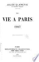 La vie à Paris ...