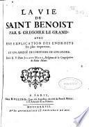 La vie de Saint Benoist