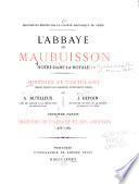 La̕bbaye de Maubuisson (Notre-Dame-la-Royale)