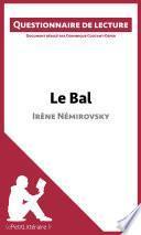 Le Bal d'Irène Némirovsky