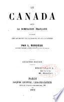 Le Canada sous la domination française