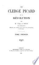 Le clergé Picard et la révolution