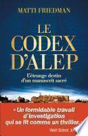 Le Codex d'Alep