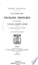 Le conseiller François Tronchin et ses amis