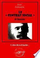 Le « CONTRAT SOCIAL » de Rousseau