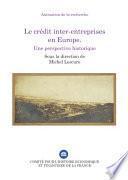 Le crédit inter-entreprises en Europe
