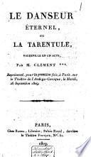 Le danseur éternel, ou La Tarentule
