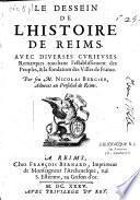 Le dessein de l'histoire de Reims