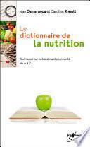 Le Dictionnaire de la nutrition