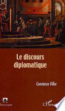 Le discours diplomatique