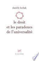 Le droit et les paradoxes de l'universalité