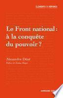 Le Front national : à la conquête du pouvoir ?