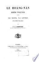 Le hoàng-nàn, remède tonquinois contre la rage, la lèpre et autres maladies