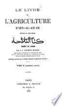 Le livre de l'agriculture. Tr. par J.-J. Clément-Mullet