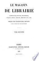 Le Magasin de librairie