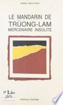 Le mandarin de Trùong-Lam
