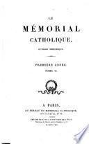 Le Mémorial catholique