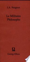 Le Militaire Philosophe