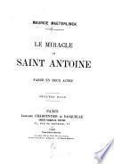 Le miracle de Saint Antoine