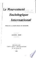 Le Mouvement sociologique international