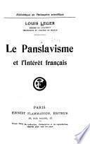 Le panslavisme et l'intérêt français