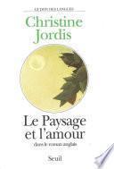 Le Paysage et l'Amour dans le roman anglais
