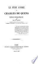 Le Père André et Charles de Quens