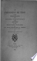 Le président de Thou et ses descendants