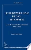 Le printemps noir de 2001 en Kabylie