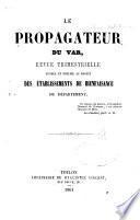 Le Propagateur de la Méditerranée et du Var