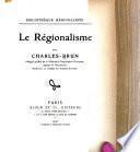 Le régionalisme