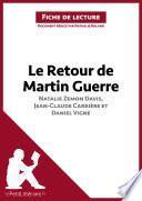 Le Retour de Martin Guerre de Natalie Zemon Davis, Jean-Claude Carrière et Daniel Vigne (Fiche de lecture)