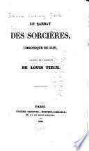 Le sabbat des sorcières, chronique de 1459