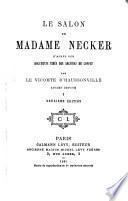Le salon de Madame Necker