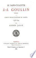 Le sans-culotte J.-J. Goullin