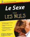 Le Sexe Pour les Nuls