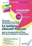 Le système éducatif Français 3e édition