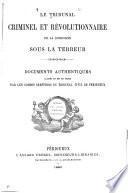 Le Tribunal criminel et révolutionnaire de la Dordogne sous la terreur