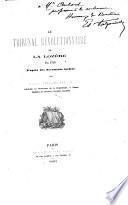 Le tribunal révolutionnaire de la Lozère en 1793, d'après des documents inédits