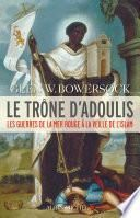Le Trône d'Adoulis