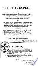 Le Tuilleur-Expert des sept grades du rite français ou rite moderne