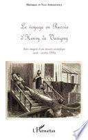 Le voyage en Russie d'Henry de Varigny
