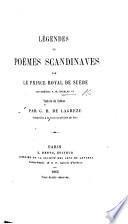 Légendes et poèmes scandinaves ... Traduits du suédois par G. B. de Lagrèze