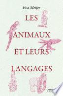 Les Animaux et leurs langages