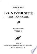 Les Annales conferencia