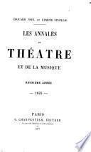 les  annales  du  theatre