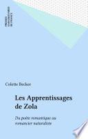 Les Apprentissages de Zola